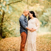 Baby Shower vestidos largos de encaje blanco Crochet encaje maternidad fotografía Props vestidos mujeres embarazadas vestido largo foto vestido