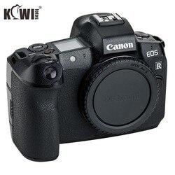 Kiwifotos KS-RL kit de película protetora de textura de couro da câmera para câmeras canon eos r decoração proteção com filme de reposição