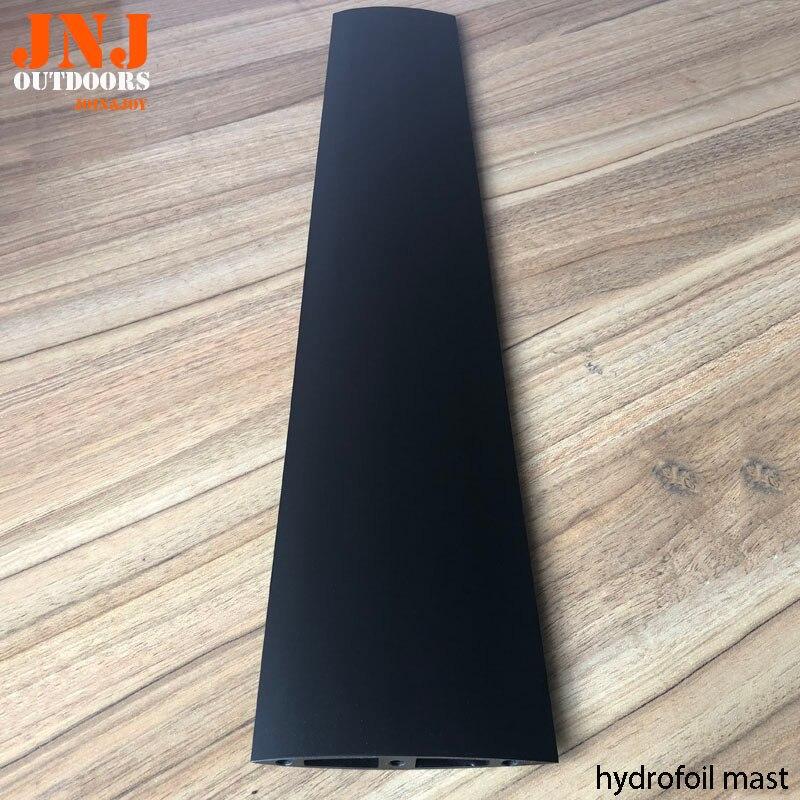 aluminum mast for hydrofoil