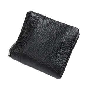 Image 3 - JINBAOLAI Genuine Leather Wallet with Cell Phone Bag Ultra thin Long Zipper Wallet for Men Slim Clutch Purse for Male