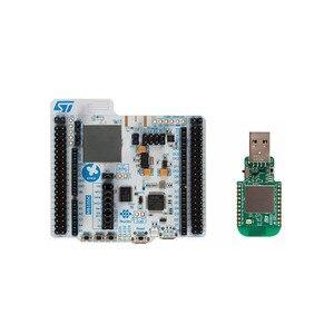 P-NUCLEO-WB55 Наборы для разработки ARM BLE Nucleo Pack, включая usb-ключ и Nucleo-68 с STM32WB55 MCUs