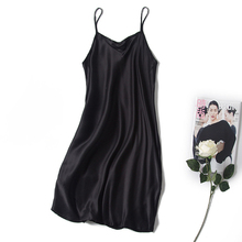 new arrival female 100% silk sling vest mulberry silk tank topssilk sleeveless silk dress size sexy summerdress hight-brand-b212