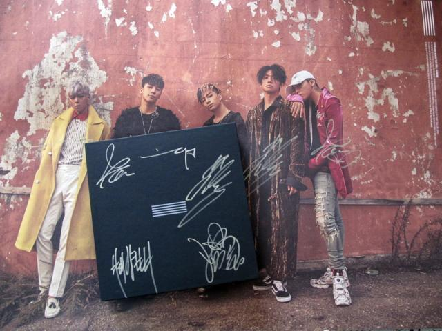 Bigbang autographed MADE FULL 2016 3th album CD+photobook random for 6 versions (Group+5 members) +gifts  01.2017 bigbang seungri 2nd mini album let s talk about love random cover booklet release date 2013 08 21 kpop