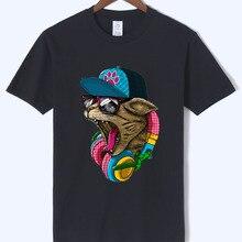 3D impreso Crazy DJ gato anime hombre marca ropa 2018 verano nuevo estilo  camiseta algodón camiseta de alta calidad hombres o-cu. 15768efc7539f