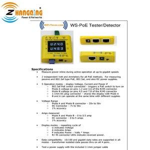 Image 3 - PoE Tester en Detector Bundel Inline PoE Spanning en Stroom Watt Tester + Zakformaat PoE Detector Voor PoE apparaten