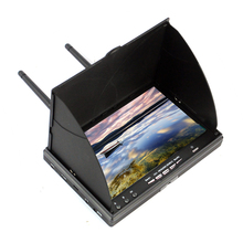 LS-5802D 5.8G FPV DVR 7 Inch Handheld 800 * 480 Screen For RC Model Racer Drone Quadcopter
