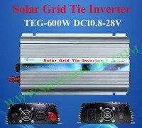 600w on grid solar power inverter, DC input 10.8v~28v invertor