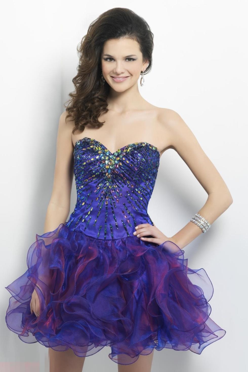 Único Mini Prom Dress Ideas Ornamento Elaboración Festooning Adorno ...
