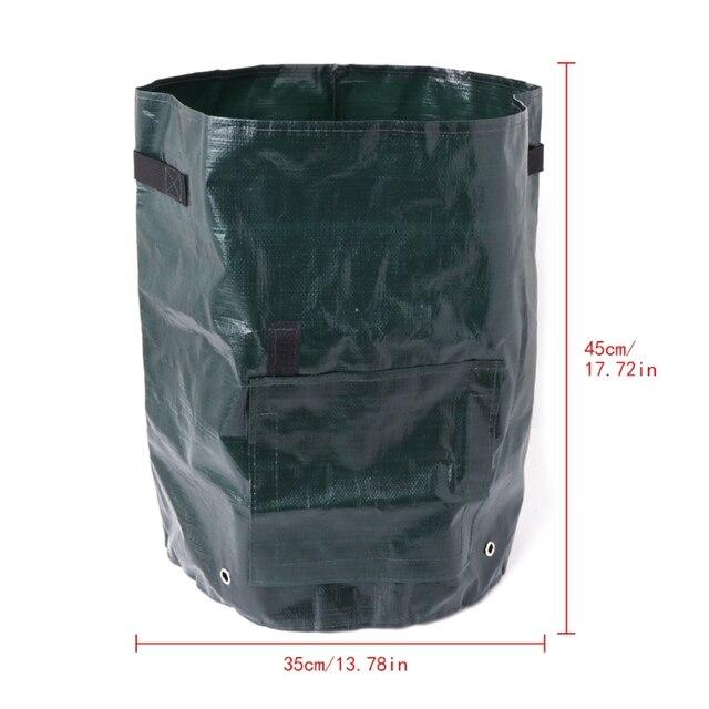 PE Bags Vegetables Potato Growing Bag Planter Pots Planters Vegetable Planting Bags Grow Bags Farm Home Garden Supplies 1