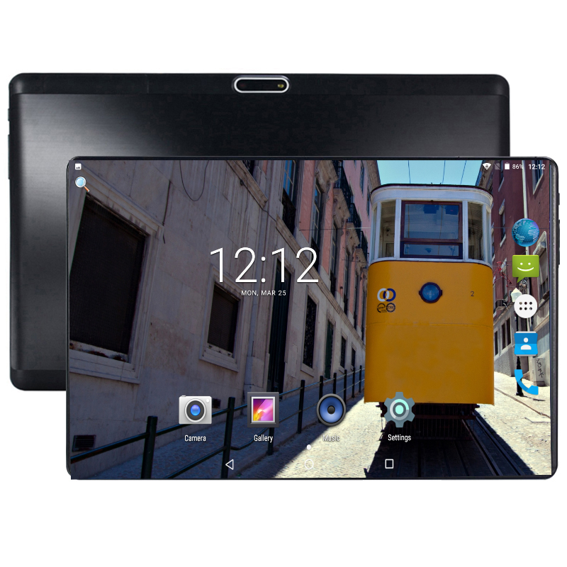 DHL Free 10 Inch 4G LTE Tablet PC Octa Core Android 8.0 1280x800 4GB RAM 64GB ROM IPS Dual Cameras GPS 4G Phone Tablets 10.1