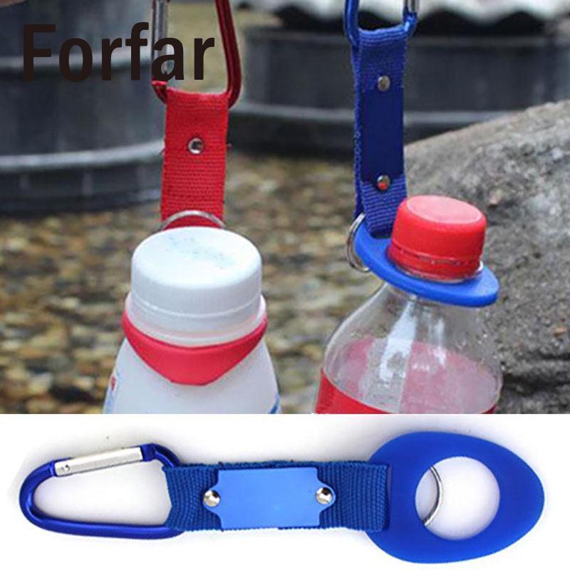 2 pcs Travel loop Belt Key Buckle Hanging Outdoor Carabiner Water Bottle Hanging Waist Hook Buckle Clip Climbing EDC multi tool