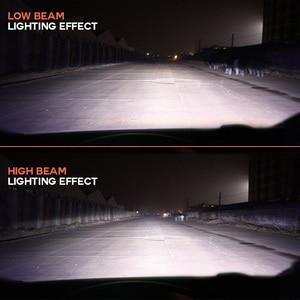 Image 4 - NIGHTEYE süper parlak araba farlar H7 LED H4 led H1 H8 H11 HB3 9005 HB4 9006 oto ampul 72W 9000LM otomobiller far 6500K