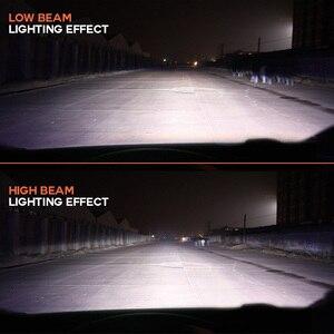 Image 4 - NighteyeヘッドライトH7 led H4 led H1 H8 H11 HB3 9005 HB4 9006 自動電球 72 ワット 9000LM自動車ヘッドランプ 6500 18k