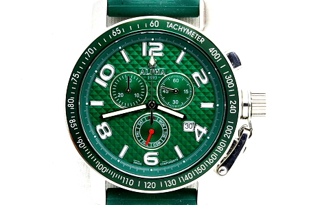 homage watch quartz chronograph watch