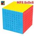 Moyu Mofang aula MF8 cubo mágico 8 capas cubo 8x8x8 cubo rompecabezas juguetes para niños