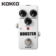 Кокко FBS2 полосный эквалайзер мини-booster Эффект Гитара педаль туре обход Guitarra эффекты для электрическая бас-гитара Запчасти аксессуары