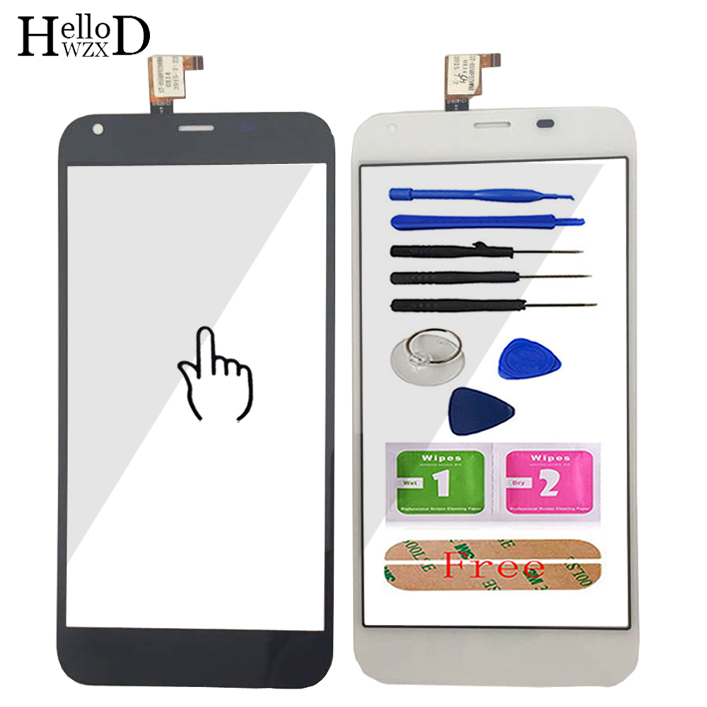 Mobile Phone Touchglass For Ark Benefit M7 Ark M7 Front Touch Screen Glass Digitizer Panel Front Glass Sensor Tools Adhesive