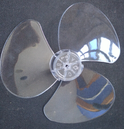 12 Inches 3 BladesTransparent Table Fan Bldes For 300mm Diameter Electric  Fan