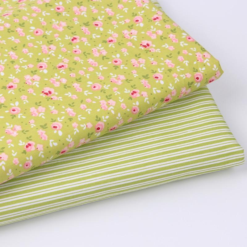 New 2pic lot 40 50cm cotton fabric costura tecidos algodao para patchwork sew - Lot de tissu patchwork ...