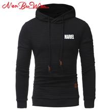 hot deal buy plaid hooded sweatshirt maevel solid color plaid hoodies male long sleeve loose hoodie casual sportswear nanbuwan a+