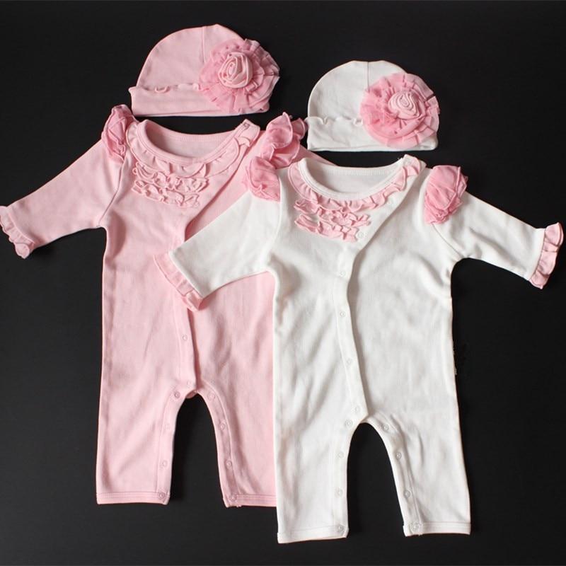 Newborn Autumn Clothes Princess Baby Girl Formal Dress Infant Lace