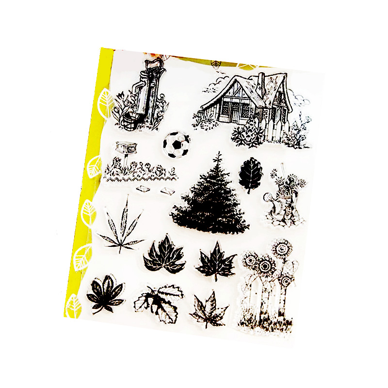 14*18cm home winter house Garden  Patio tree Transparent Stamp Clear  Seal for Scrapbooking stamp DIY Decorative stamp H01-021 mary pope osborne magic tree house 43 leprechaun in late winter