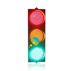 Nueva llegada CE RoHS aprobado 200mm 8 pulgadas rojo amarillo verde LED señal de tráfico para la promoción