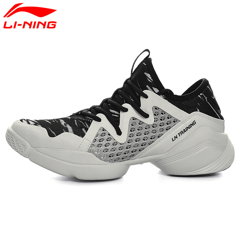 Li-Ningสตรีด่วนการฝึกอบรมรองเท้าเบาะที่มีความยืดหยุ่น