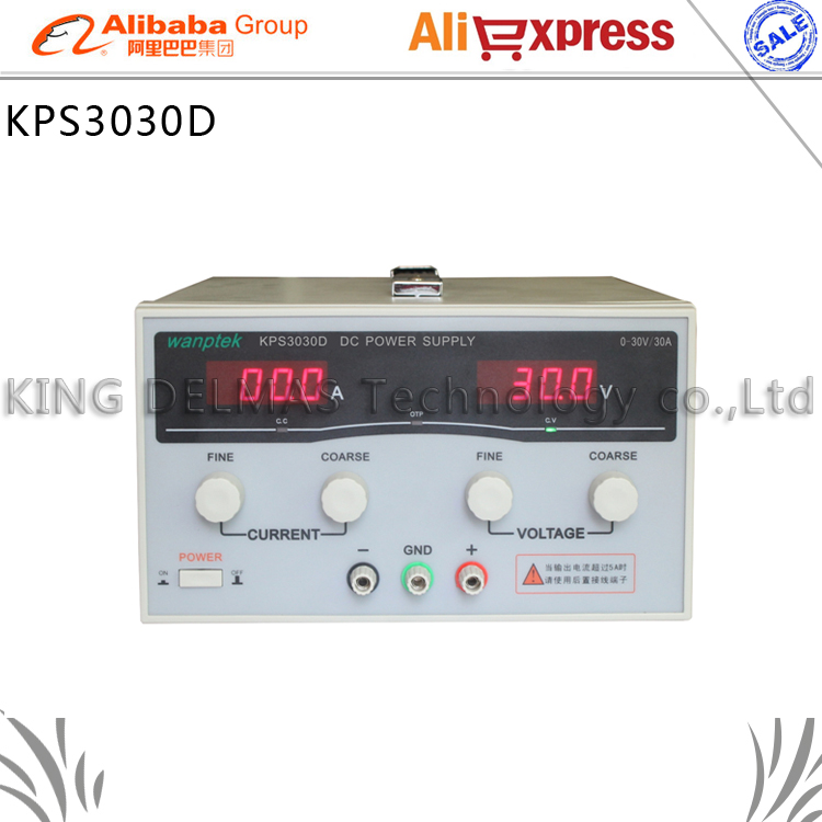 KPS3030D High precision High Power Adjustable LED Display Switching DC power supply 220V 0-30V/0-30A For Laboratory and teaching kuaiqu high precision adjustable digital dc power supply 60v 5a for for mobile phone repair laboratory equipment maintenance