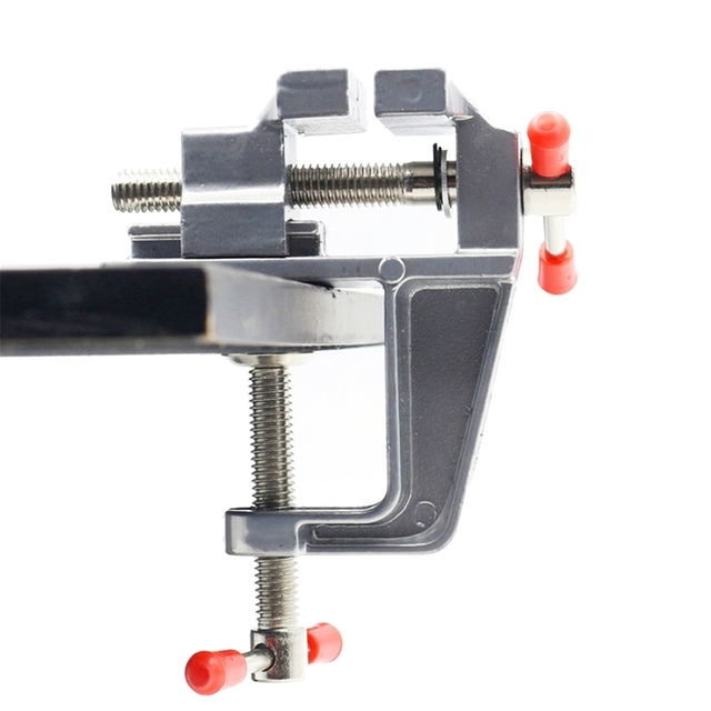 Table Vise Rotating Bench Vise Work Table Bench Clamp Swivel Rotated - Rotating work table