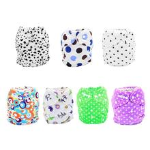 Soft Waterproof Baby Cloth Diaper Cover Urine Pocket Polyester Fiber Baby Cloth