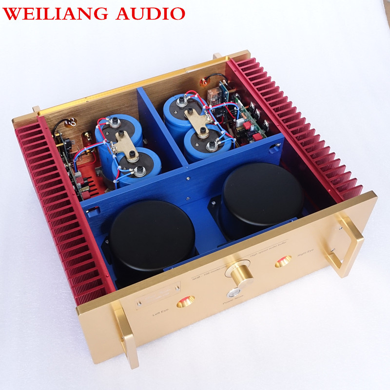 Breeze audio Factory Study/Copy Dartzeel NHB108 power amplifier amp 200W*2  Sweet voice weiliang breeze audio a100 replica nhb 108 amplifier hifi exquis no negative feedback hi end amp wbanhb108
