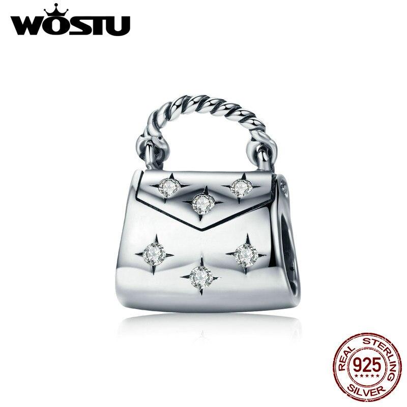 8743fa5e391b WOSTU-Fashion-925-Sterling-Silver-Clear-Cubic-Zircon-Bright-Life-Handbag -Beads-Fit-For-Women-Original.jpg