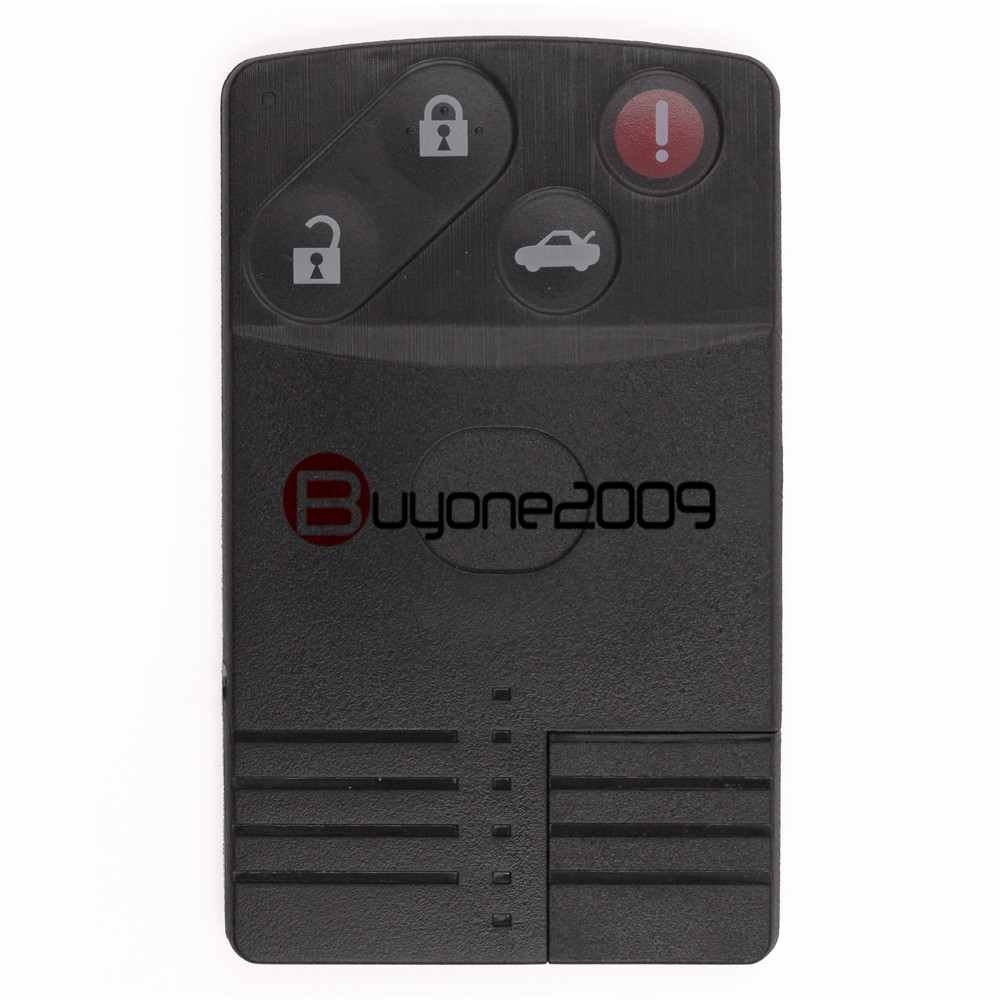 Smart Card Remote Key Case shell Fob 3 1 Button for MAZDA RX8 5 6 CX