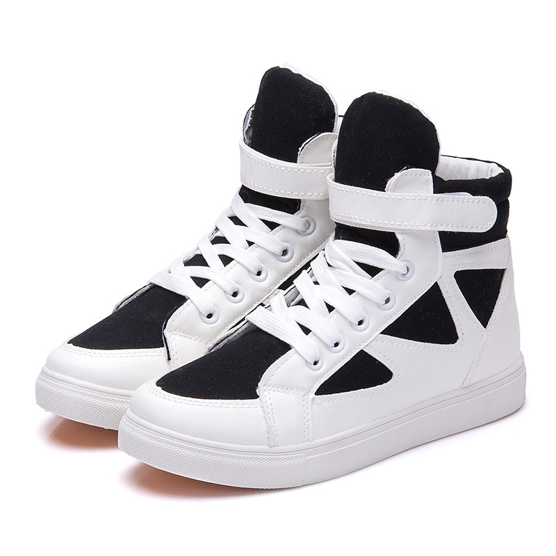 height increased high top new arrive 2017 spring autumn women sport shoes ankle boots running shoes women  wedges shoes