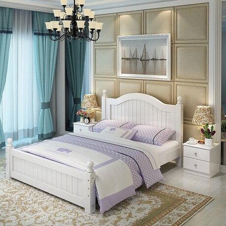 Cama casa Muebles de dormitorio Muebles para el hogar nórdico simple ...