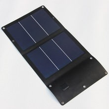6W 5V Outdoor folding Solar Panel USB Output Portable Foldable Power Bank waterproof travel Solar Charger phone high efficiency