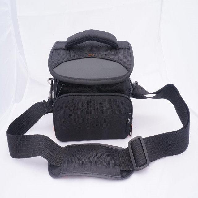Prix pour L taille noir caméra étanche sac pour DSLR Sony A6000 Nex 5 Nex F3 Nex 7 livraison gratuite