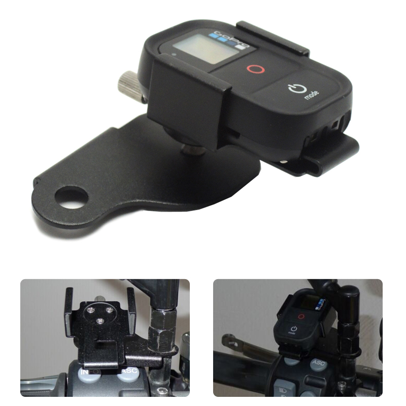 for BMW R1200GS Front Bracket For GoPro Remote Control bracket F700GS F800GS ADV K1200R 2013 2014 2015 2016 after market after market ata securacode remote
