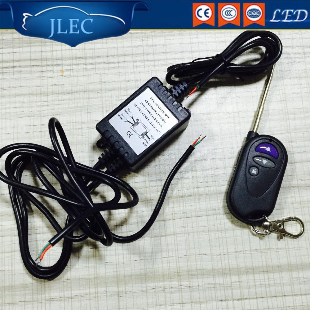 JLEC 2017 Car LED RF Remote Controller 12V High Quality LED Lights Controller for Car Strobe Lightbars Flash Dash Warning Lights