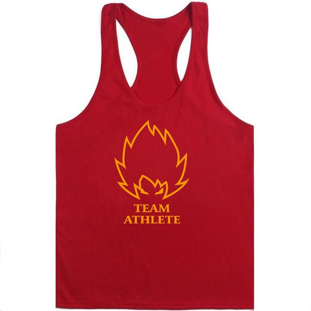 2018 new The Dragon Ball Z Men tank tops sleeveless casual vest Son Goku to go Bodybuilding shirt super saiyan singlets