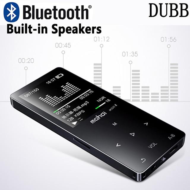 HIFI Lossless Bluetooth 4.0 MP3 נגן מקליט FM וידאו ספר אלקטרוני רדיו ספורט אלחוטי MP3 מוסיקה נגן תמיכה OTG קישור