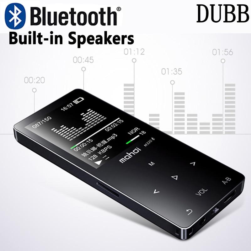 HIFI Lossless Bluetooth 4.0 MP3 Player Recorder FM Video E-b
