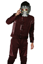 Star Lord Costume Guardians of the Galaxy Vol. 2 Hero Outfit Suit Mens Uniform Top Pants XCOSER