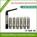 Бесплатная доставка DHL светодиодный контроллер беспроводной dmx приемник беспроводной dmx контроллер передатчик