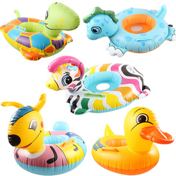 Dzieci pływające płyty koło nadmuchiwane basen plaża bezpieczne ulgę w pływalności materac wodny cartoon wersja tanie i dobre opinie FEELWIND Dziecko WJ0047