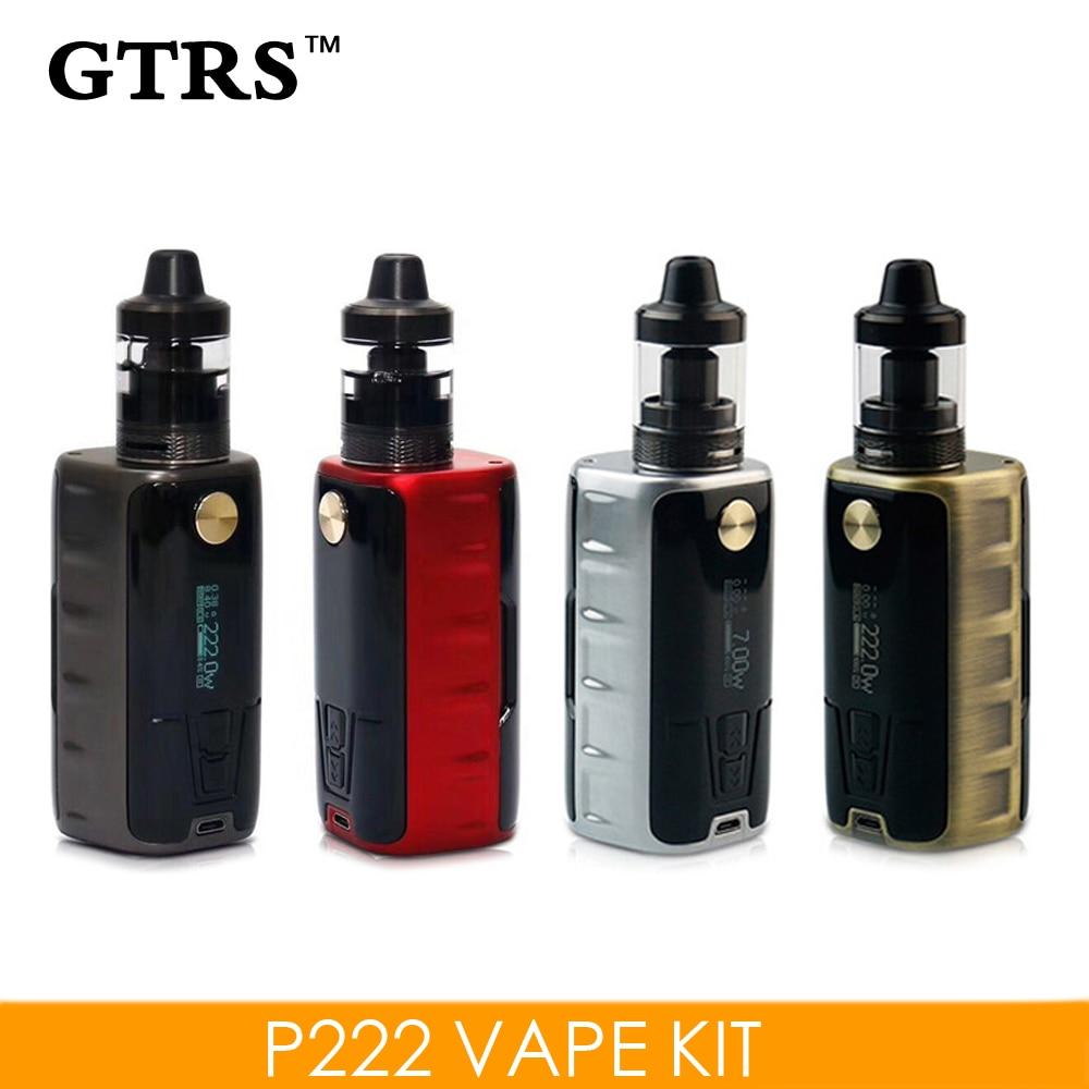 Original GTRS P222 Kit de Vape para Dual 18650 batería TC / TCR / VW - Cigarrillos electrónicos