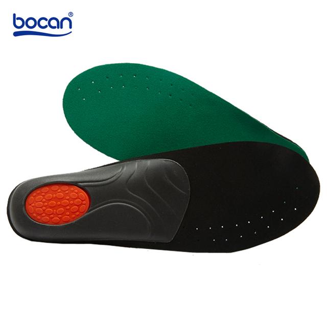 Almofadas de Sapato palmilhas para Sapatos Ortopédicos Almofadas 1 Paris Pés saúde Apoio Do Arco Palmilha para Homens e mulheres sapatos palmilhas cuidados verde