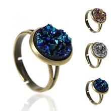 Антикварное кольцо DoreenBeads Druzy ab 16,7