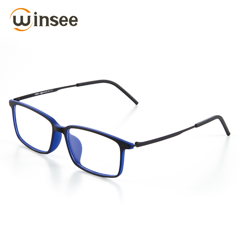 b40f563a2e Winsee Anti Blue Light Clear Glasses Optical Myopia Prescription Eyeglasses  Frame And Lens Computer Glasses For Men